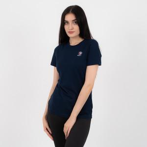 ביגוד ריבוק לנשים Reebok Classics Small Logo - כחול כהה
