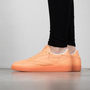 נעליים ריבוק לנשים Reebok Club C 85 Canvas - כתום
