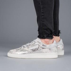 נעליים ריבוק לנשים Reebok Club C 85 Hype - כסף