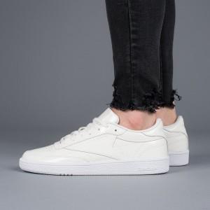 נעליים ריבוק לנשים Reebok Club C 85 Patent - לבן