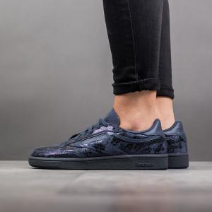 נעליים ריבוק לנשים Reebok Club C 85 Textural Hype - שחור