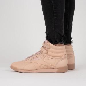 נעליים ריבוק לנשים Reebok Freestyle HI - ורוד/כתום