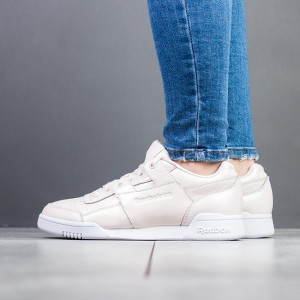 נעליים ריבוק לנשים Reebok Workout Low Plus Iridescent - ורוד בהיר