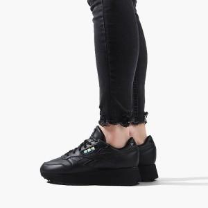 נעליים ריבוק לנשים Reebok x Gigi Hadid Classic Letaher Double - שחור