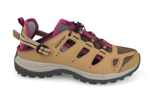 נעלי טיולים סלומון לנשים Salomon Ellipse Cabrio - חאקי