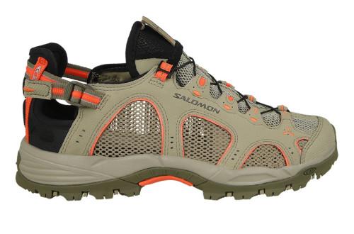 נעלי טיולים סלומון לנשים Salomon TECHAMPHIBIAN 3 - חאקי