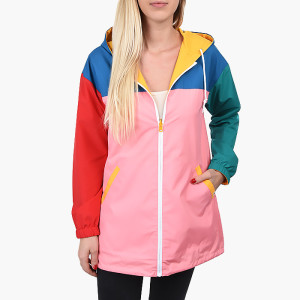 בגדי חורף ואנס לנשים Vans Mercy Reversible Parka Patchwork  - צבעוני
