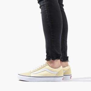 נעליים ואנס לנשים Vans Old Skool - צהוב בהיר