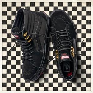 נעליים ואנס לנשים Vans Sk8-Hi x Marvel - שחור