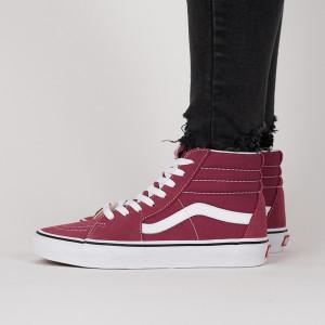 נעליים ואנס לנשים Vans Sk8-Hi - בורדו/ורוד