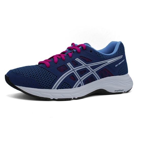 נעליים אסיקס לנשים Asics Gel Contend 5 - כחול/לבן