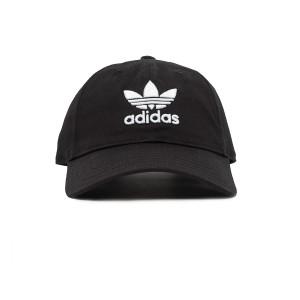 אביזרי ביגוד Adidas Originals לנשים Adidas Originals Trepoil Cap - שחור/לבן