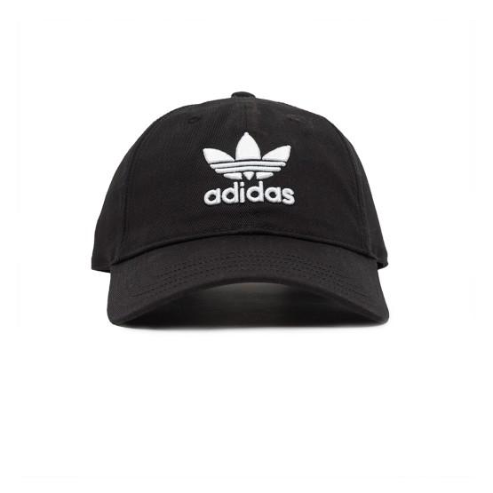 ביגוד Adidas Originals לגברים Adidas Originals Trepoil Cap - שחור/לבן