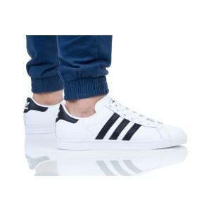 נעליים אדידס לגברים Adidas COAST STAR - לבן/שחור