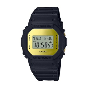 אביזרים קסיו ג'י-שוק לגברים CASIO G-SHOCK DW5600BBM - כחול/צהוב
