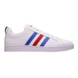 נעליים אדידס לגברים Adidas VS ADVANTAGE - לבן  כחול  אדום