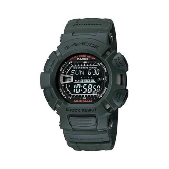 שעון קסיו ג'י-שוק לגברים CASIO G-SHOCK G9000 - ירוק