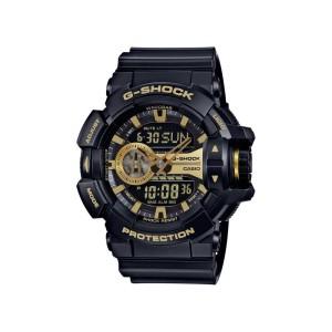 שעון קסיו ג'י-שוק לגברים CASIO G-SHOCK GA400GB - שחור/צהוב