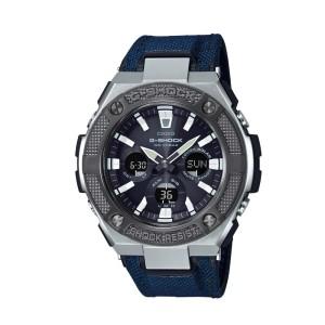 אביזרים קסיו ג'י-שוק לגברים CASIO G-SHOCK GSTS330AC - כחול