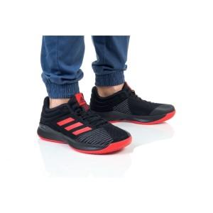 נעלי הליכה אדידס לגברים Adidas PRO SPARK 2018 LOW - שחור/אדום