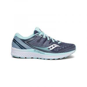 נעליים סאקוני לנשים Saucony GUIDE ISO 2 - אפור/טורקיז