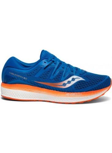 נעליים סאקוני לגברים Saucony TRIUMPH ISO 5 - כחול/כתום