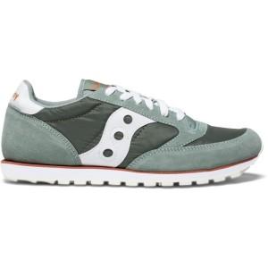 נעלי סניקרס סאקוני לגברים Saucony JAZZ LOWPRO - ירוק