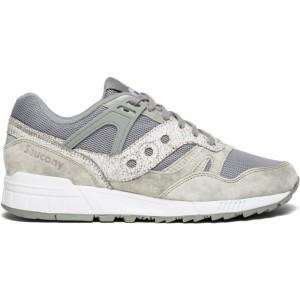 נעליים סאקוני לגברים Saucony GRID SD - אפור/לבן