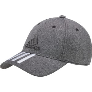אביזרי ביגוד Adidas Originals לנשים Adidas Originals Classic Six Panel 3 Stripes Cap - אפור/לבן
