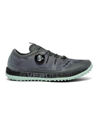 נעליים סאקוני לנשים Saucony SWITCHBACK ISO - אפור