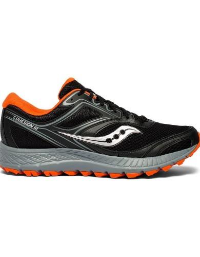 נעליים סאקוני לגברים Saucony VERSAFOAM COHESION TR12 - שחור/כתום