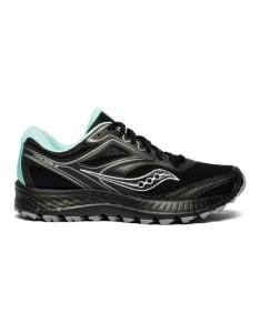 נעליים סאקוני לנשים Saucony VERSAFOAM COHESION TR12 - שחור/תכלת