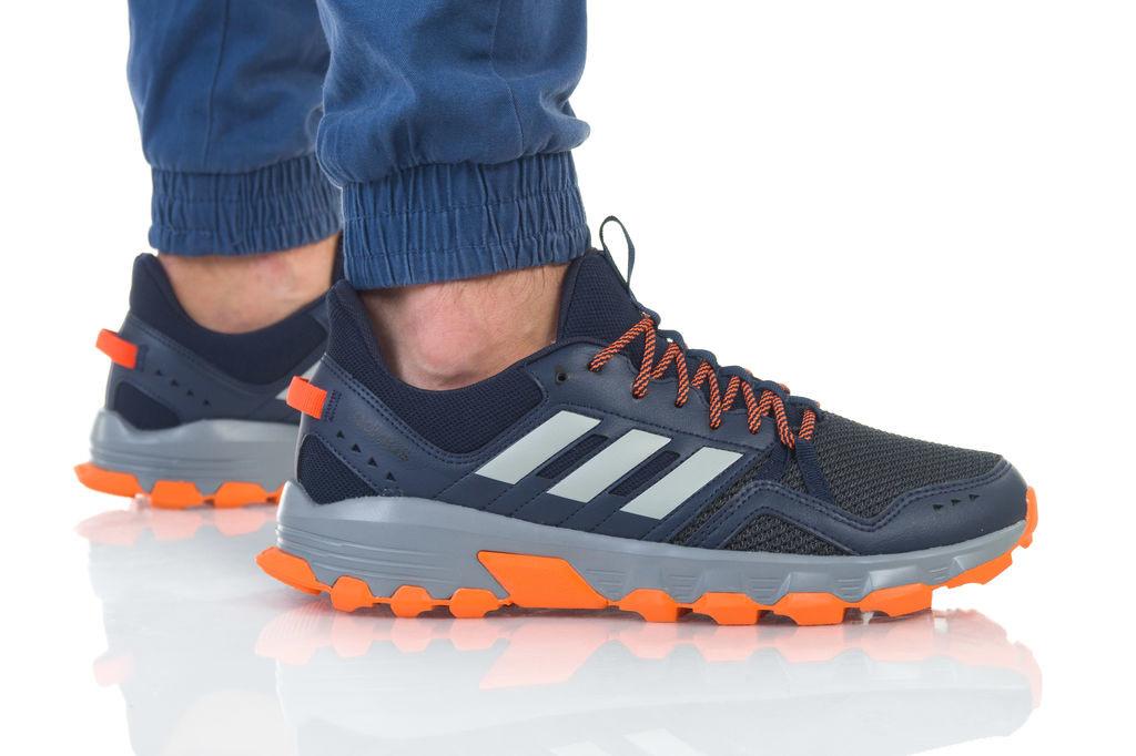 נעליים אדידס לגברים Adidas  Rockadia Trail - שחור/כתום