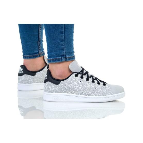 נעליים אדידס לנשים Adidas STAN SMITH J - אפור