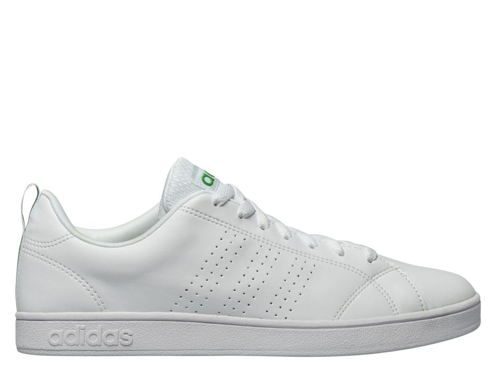 נעליים אדידס לגברים Adidas VS ADVANTAGE - לבן/ירוק