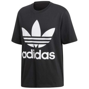 ביגוד Adidas Originals לגברים Adidas Originals Trefoil Oversized - שחור