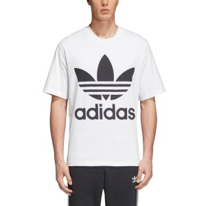 ביגוד Adidas Originals לגברים Adidas Originals Trefoil Oversized - לבן
