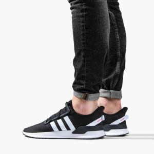 נעליים Adidas Originals לגברים Adidas Originals U_Path Run - שחור/לבן