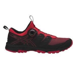 נעליים אסיקס לגברים Asics  Gel FujiRado - שחור/אדום