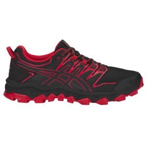 נעליים אסיקס לגברים Asics  Gel Fujitrabuco 7 - שחור/אדום
