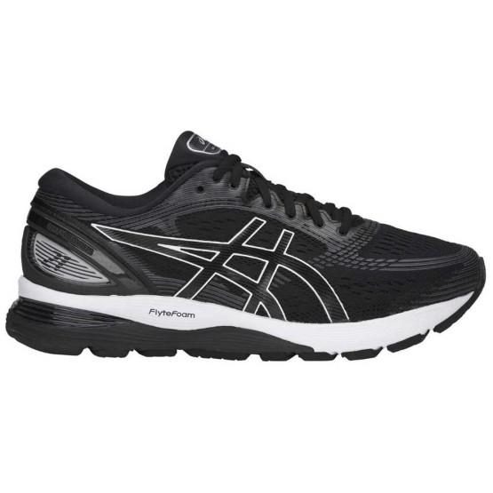 נעלי ריצה אסיקס לגברים Asics  Gel Nimbus 21 Wide - שחור