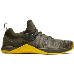 נעלי אימון נייק לגברים Nike Metcon Flyknit 3 - חום כהה
