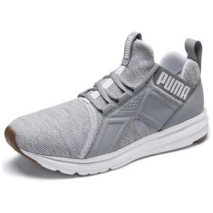 נעליים פומה לגברים PUMA Enzo Knit NM - אפור בהיר