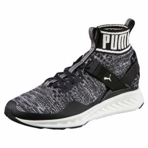 נעלי אימון פומה לגברים PUMA  Ignite Evoknit - שחור/אפור