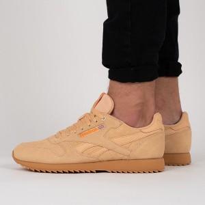 נעליים ריבוק לגברים Reebok   Leather MU - חאקי