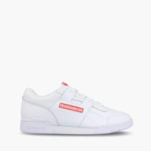 נעליים ריבוק לגברים Reebok Workout Plus - לבן/אדום