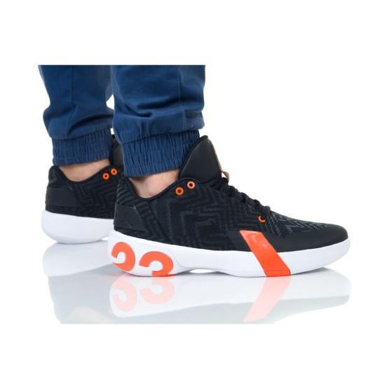 נעלי הליכה נייק לגברים Nike JORDAN ULTRA FLY 3 LOW - שחור/כתום