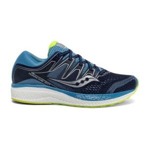 נעליים סאקוני לנשים Saucony HURRICANE ISO 5 - כחול/ירוק
