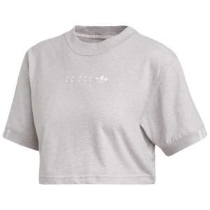 ביגוד Adidas Originals לנשים Adidas Originals Coeeze Cropped - אפור בהיר