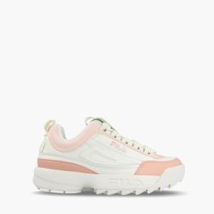 נעליים פילה לנשים Fila Disruptor Low - לבן